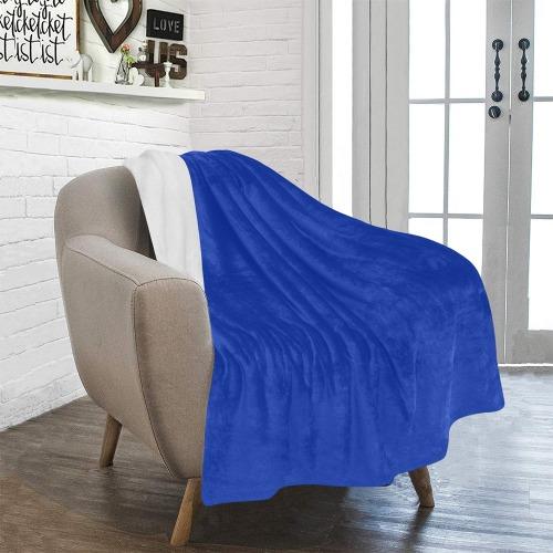 "color Egyptian blue Ultra-Soft Micro Fleece Blanket 40""x50"""