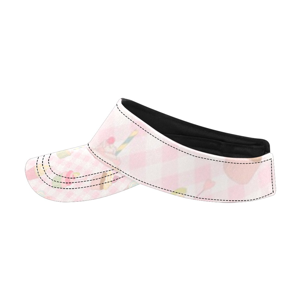 Cupcakes All Over Print Sports Visor