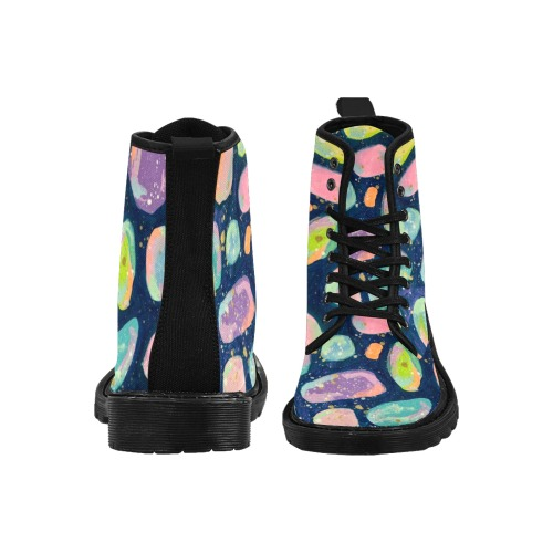 Bijou Martin Boots for Women (Black) (Model 1203H)