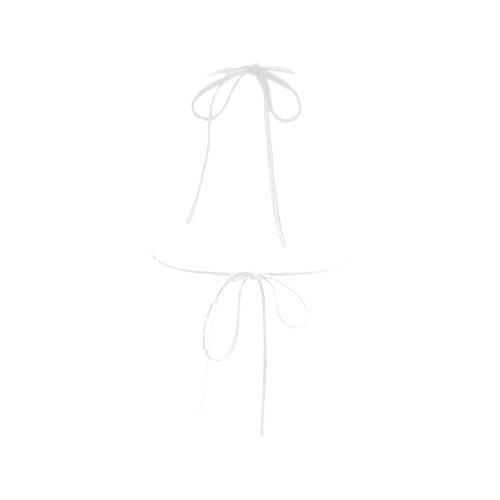 Colorful watercolor Custom Bikini Swimsuit Top
