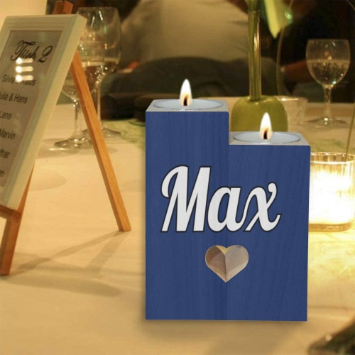 Max Wooden Candle Holder (Without Candle)