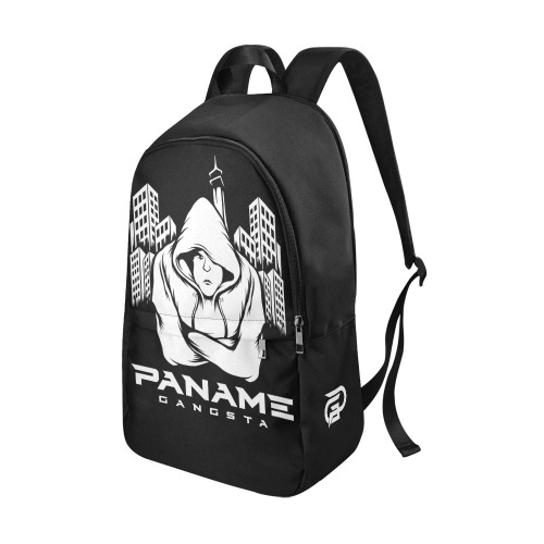 Sac a dos PG Blanc / Noir Fabric Backpack for Adult (Model 1659)