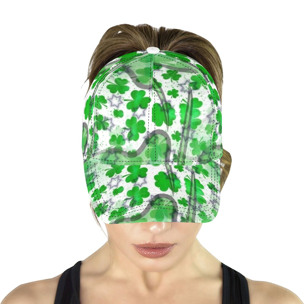 St. Patrick's by Artdream All Over Print Dad Cap C (6-Pieces Customization)