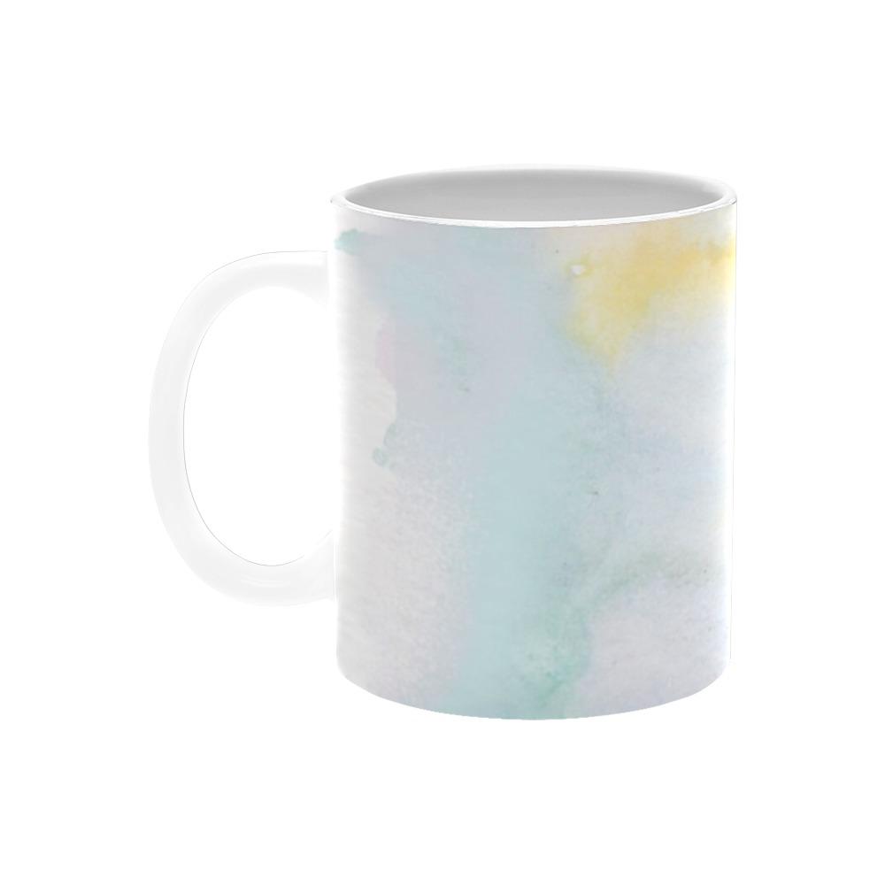 Colorful watercolor White Mug(11OZ)