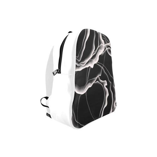 Monochrome Ink School Backpack (Model 1601)(Small)