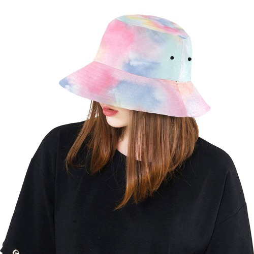 Colorful watercolor All Over Print Bucket Hat