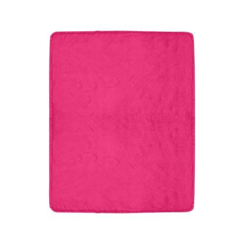 "color ruby Ultra-Soft Micro Fleece Blanket 40""x50"""