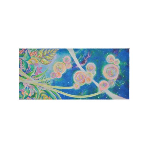 Pleiades Flower Area Rug 7'x3'3''