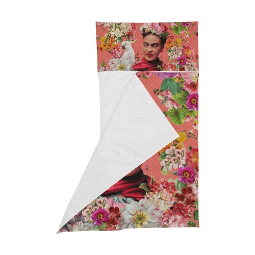 Frida Kahlo Cockatoo Love - Pink Kids' Sleeping Bag