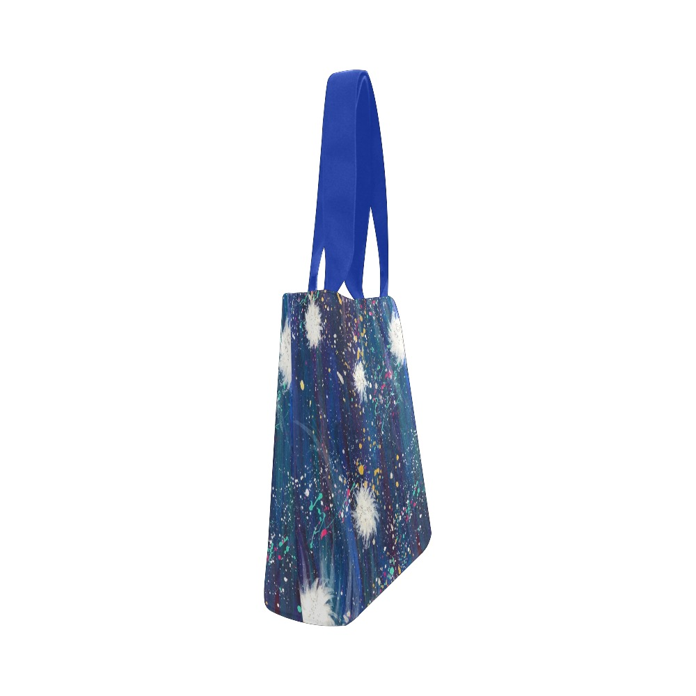 Sparkle Canvas Tote Bag (Model 1657)