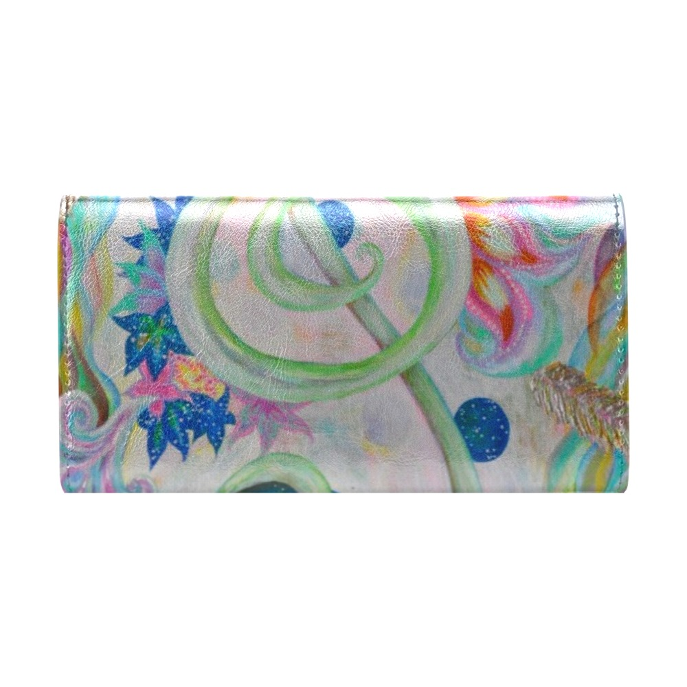 Music Women's Trifold Wallet (Model 1708)