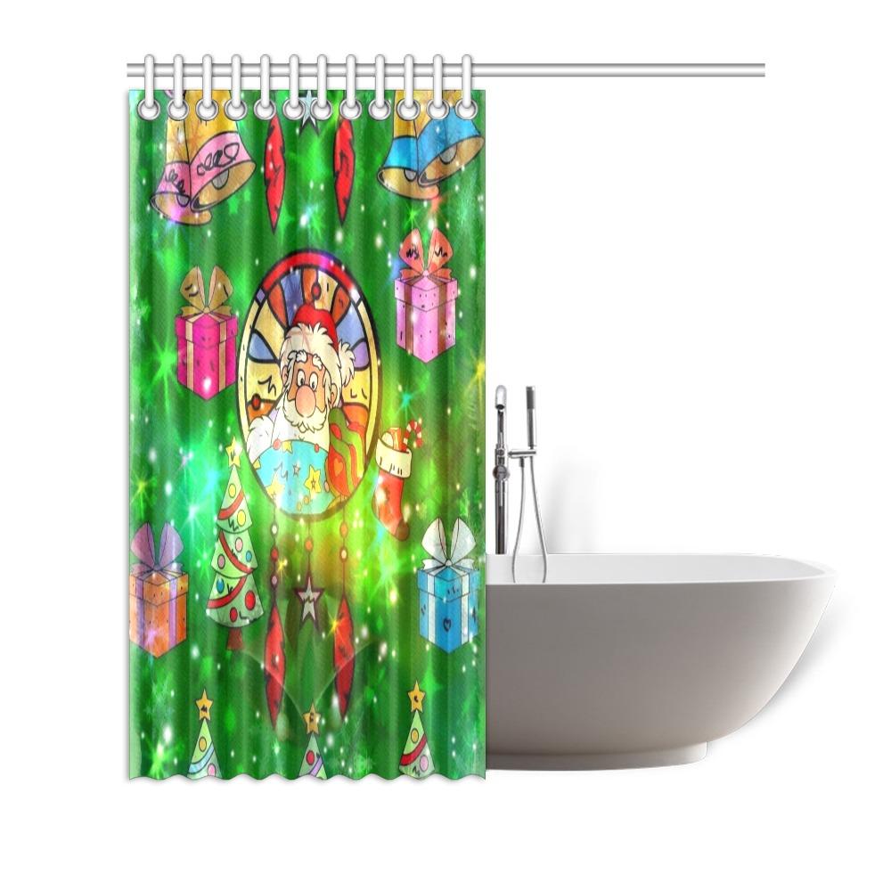"""Christmas Dreamcatcher by Nico Bielow Shower Curtain 72""""x72"""""""