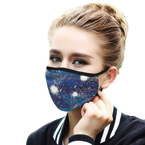 Sparkle Mouth Mask in One Piece (Model M02)
