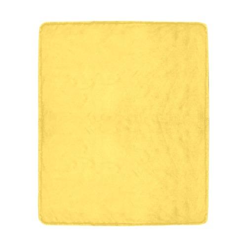 "color mustard Ultra-Soft Micro Fleece Blanket 50""x60"""