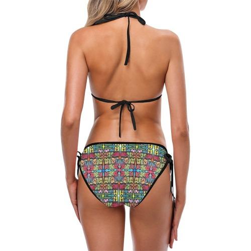 Graffiti 18 Custom Bikini Swimsuit (Model S01)