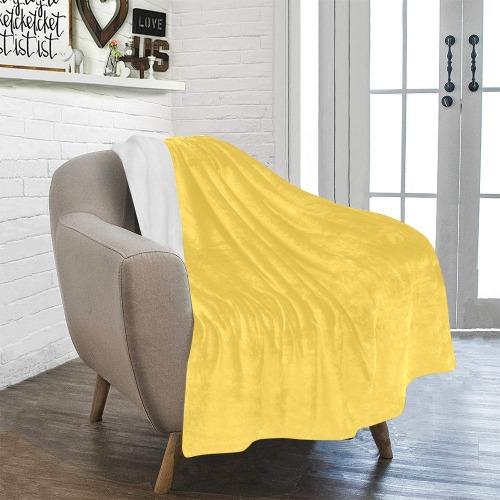 "color mustard Ultra-Soft Micro Fleece Blanket 40""x50"""