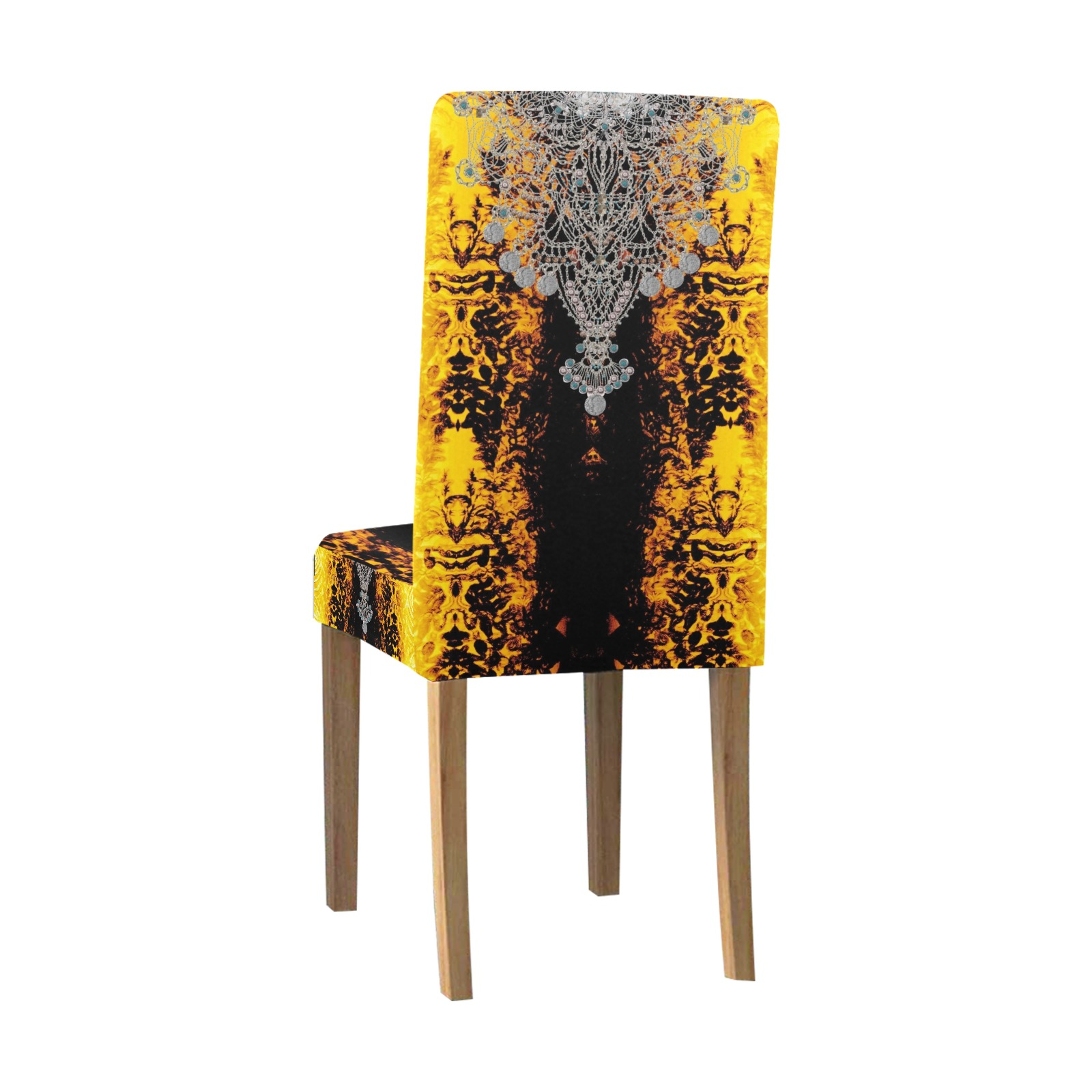 jewels Removable Dining Chair Cover