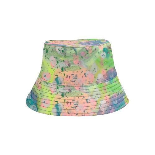 Rain Drops All Over Print Bucket Hat