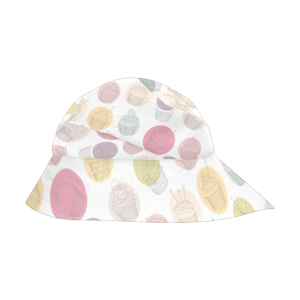 Colorful Cupcakes New Style Bucket Hat