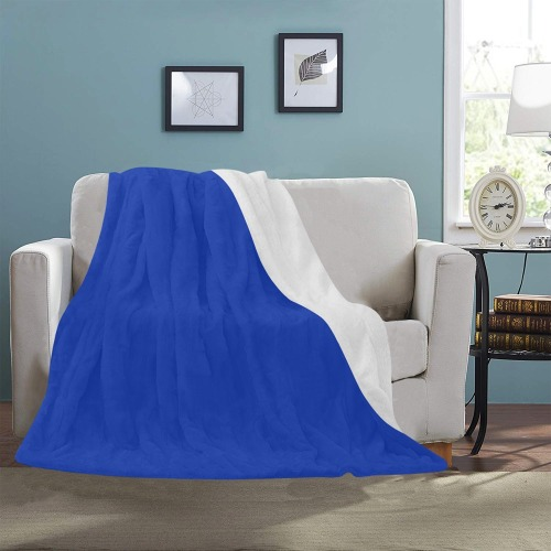 "color Egyptian blue Ultra-Soft Micro Fleece Blanket 50""x60"""