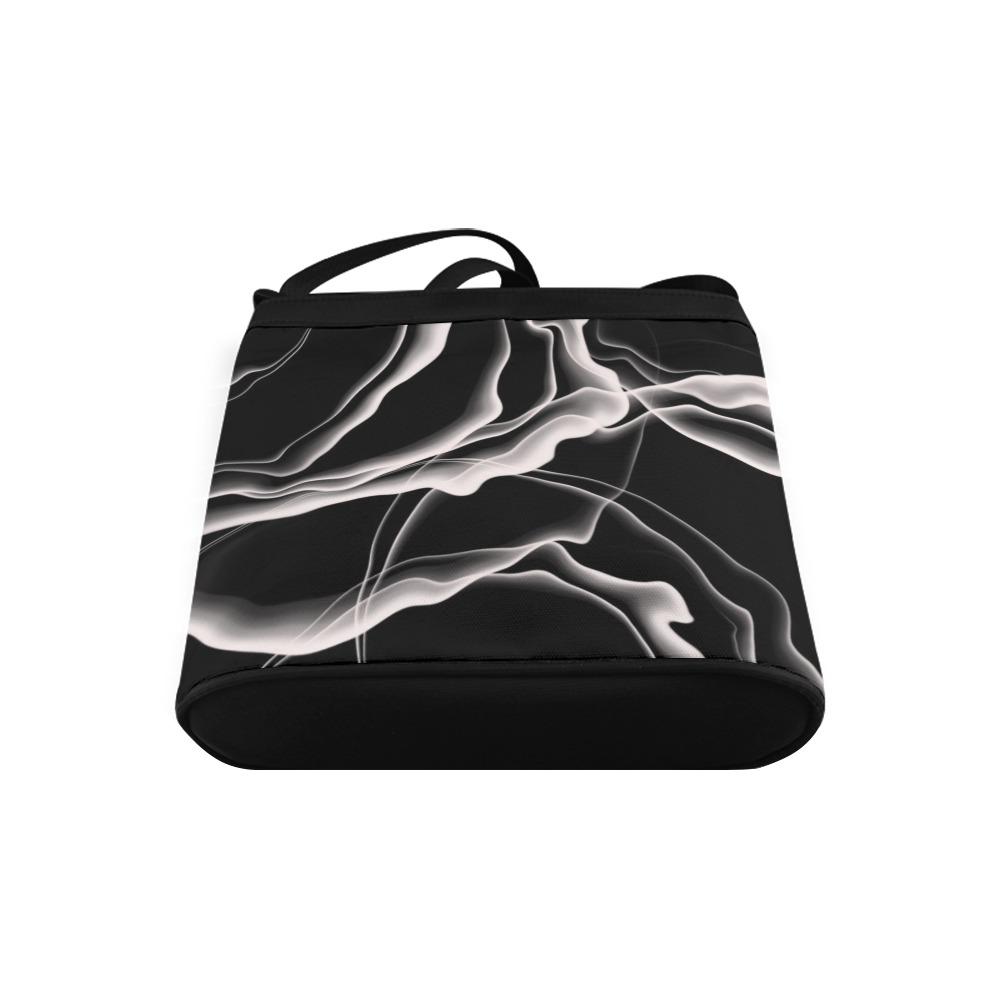 Monochrome Ink Crossbody Bags (Model 1613)