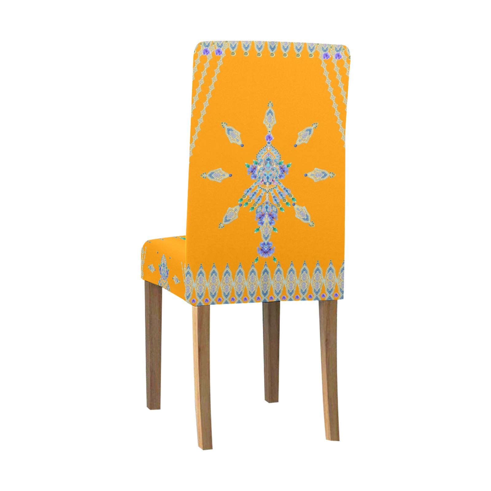 BLEUETS 12 Removable Dining Chair Cover