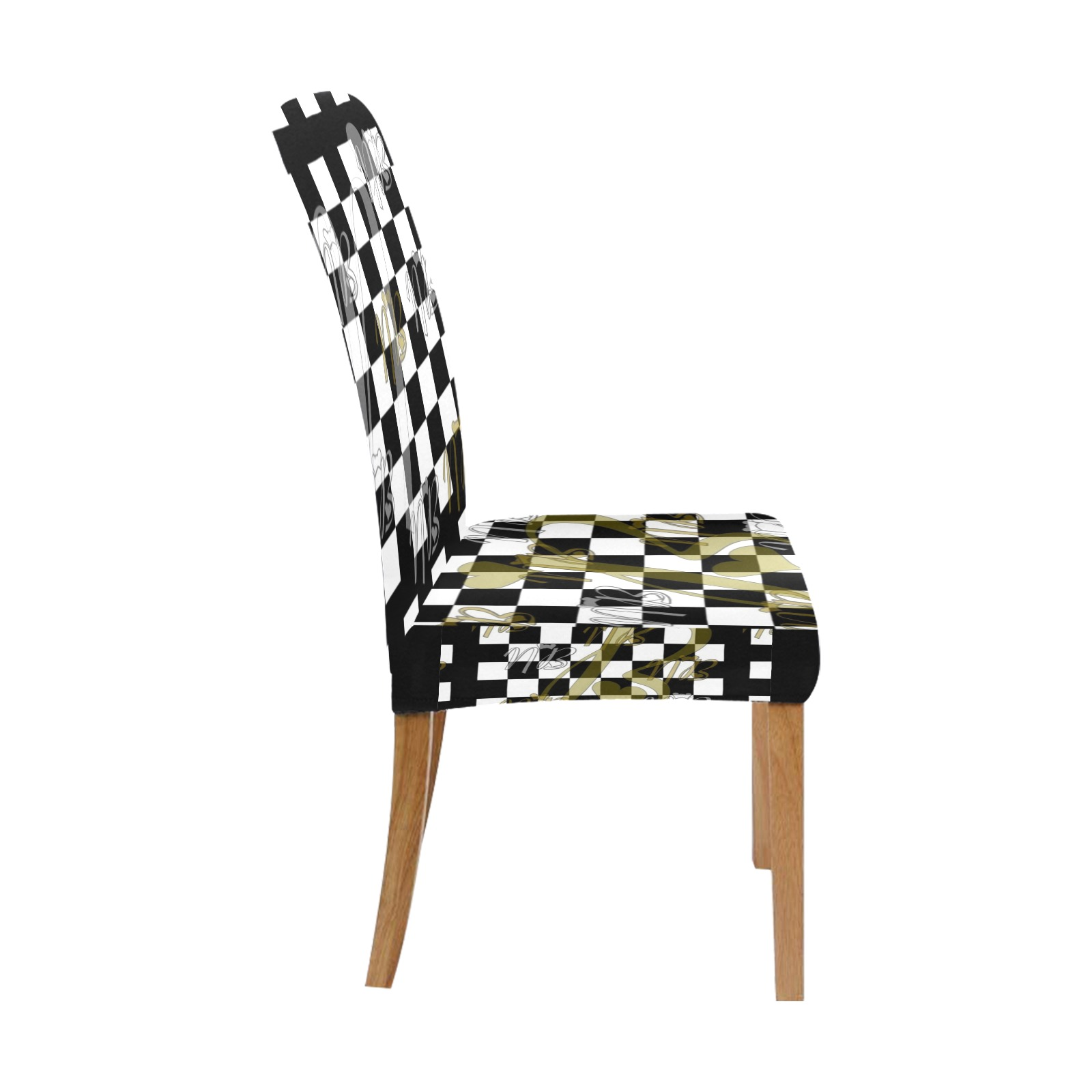 NB Pop Art by Nico Bielow Removable Dining Chair Cover