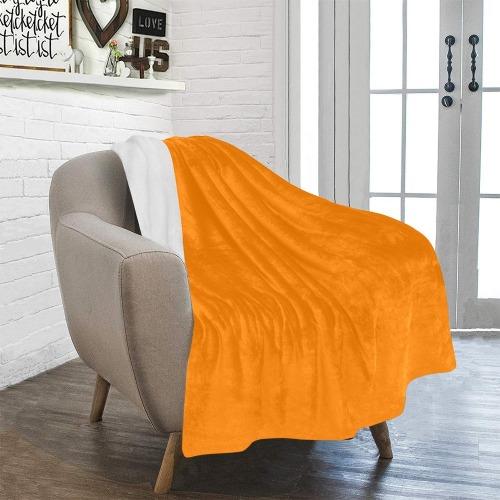 "color UT orange Ultra-Soft Micro Fleece Blanket 40""x50"""