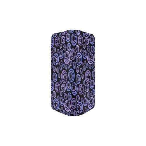Retro Psychedelic Pretty Purple Pattern Women's Clutch Purse (Model 1637)