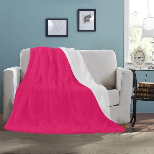 "color ruby Ultra-Soft Micro Fleece Blanket 50""x60"""