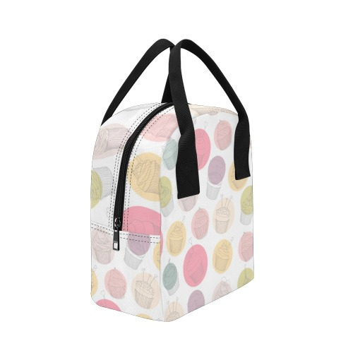 Colorful Cupcakes Zipper Lunch Bag (Model 1689)
