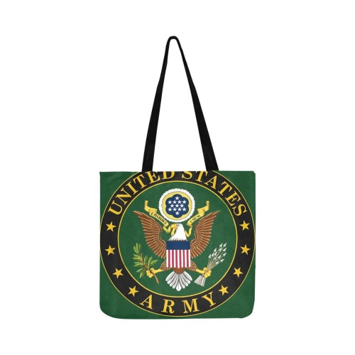 US Army Reusable Shopping Bag Model 1660 (Two sides)