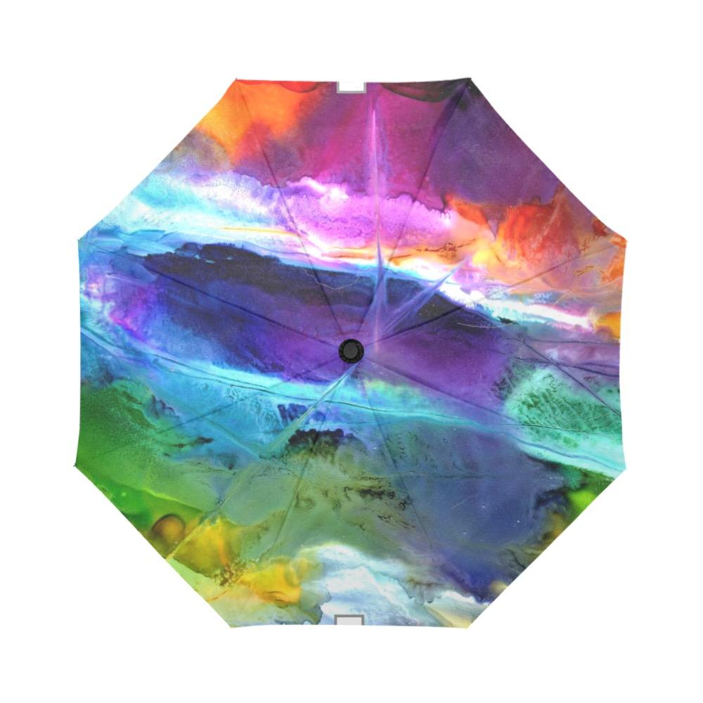 Colorful Valley Auto-Foldable Umbrella (Model U04)