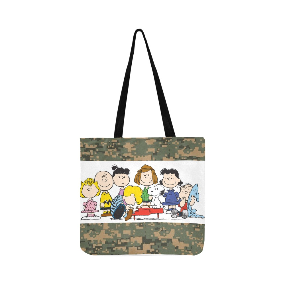 Charlie Brown Reusable Shopping Bag Model 1660 (Two sides)