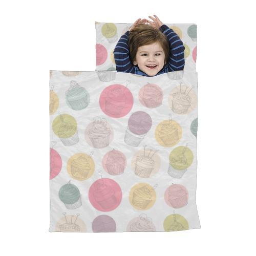 Colorful Cupcakes Kids' Sleeping Bag