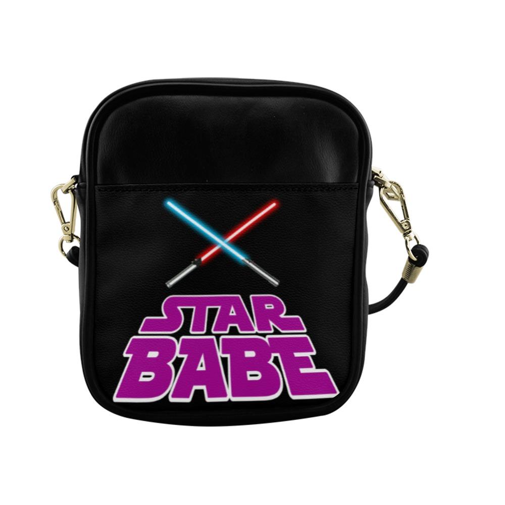 Pink Star Babe Sling Bag (Model 1627)