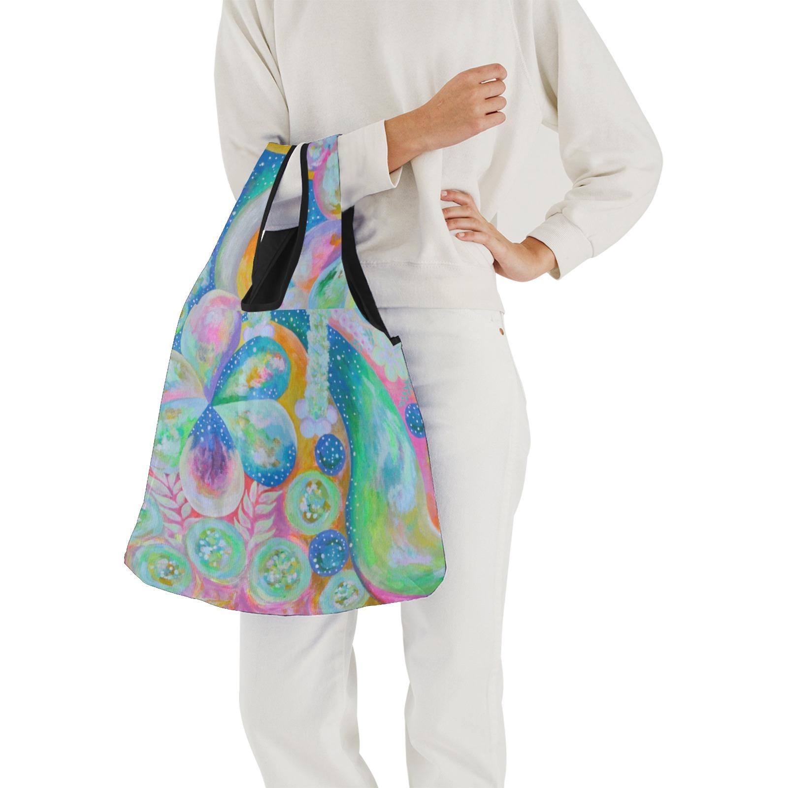 Pleiades Garden Foldable Reusable Grocery Bag (Model 1716)