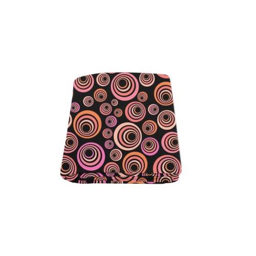 "Retro Psychedelic Pretty Orange Pattern Blanket 50""x60"""