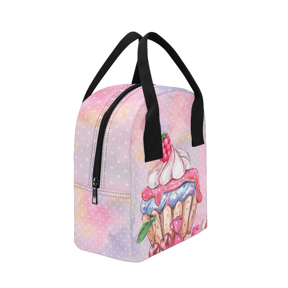 cupcake Zipper Lunch Bag (Model 1689)
