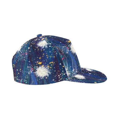 Sparkle All Over Print Snapback Hat D