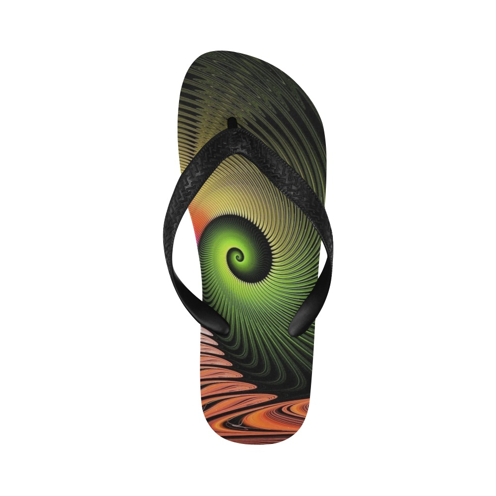 Funny Face Flip Flops for Men/Women (Model 040)