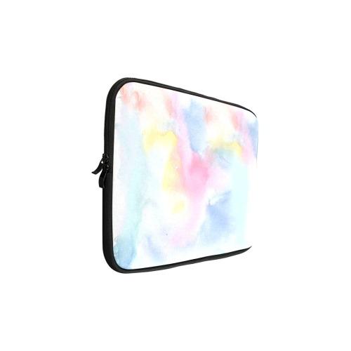 Colorful watercolor Custom Laptop Sleeve 15''