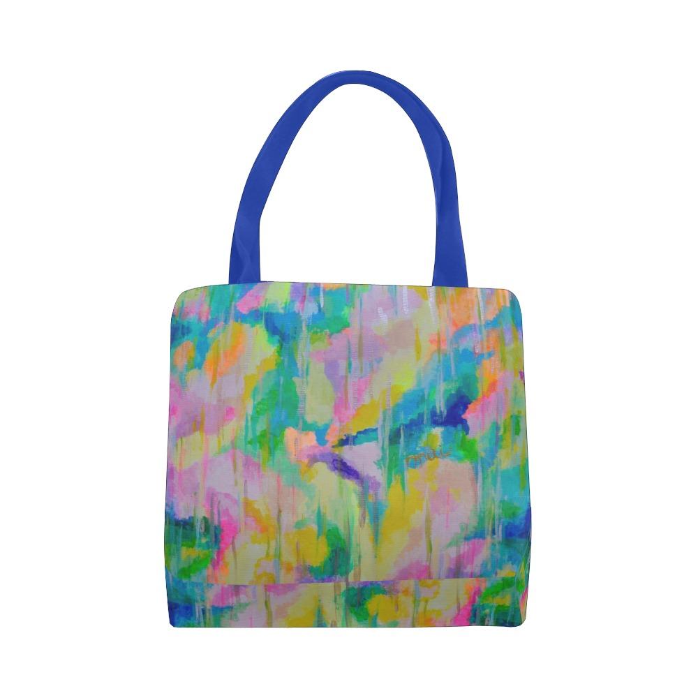 Happy Rain Canvas Tote Bag (Model 1657)
