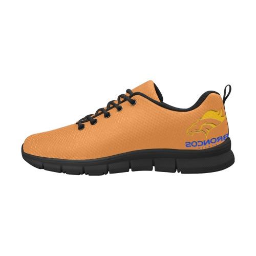 Broncos Orange Women's Breathable Running Shoes (Model 055)