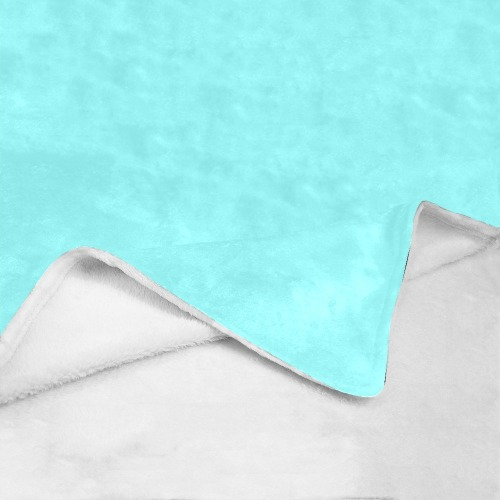 "color ice blue Ultra-Soft Micro Fleece Blanket 50""x60"""