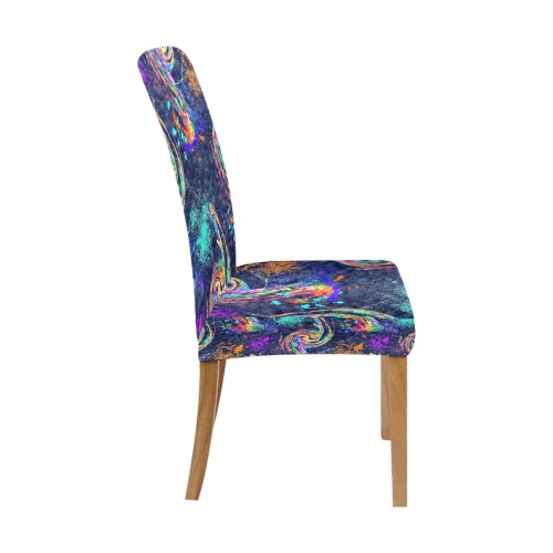 Colorsboom by Nico Bielow Removable Dining Chair Cover