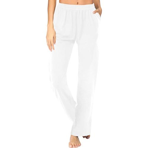 color white Women's Pajama Pants (Sets 02)