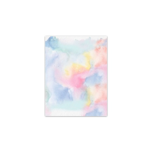 """Colorful watercolor Poster 11""""x8.5"""""""