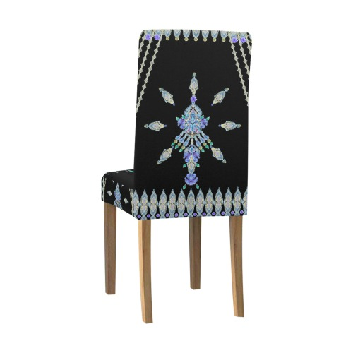 bleuets Removable Dining Chair Cover