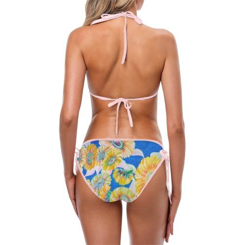 Sunflower Custom Bikini Swimsuit (Model S01)